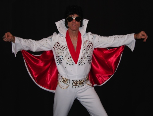 Elvis impersonator in Edmonton
